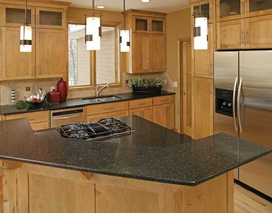 Countertop edge design maryland explore counter edge for Best material for kitchen counters